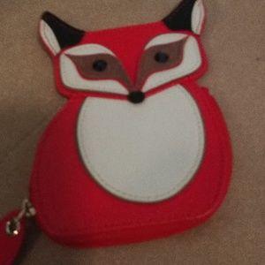 Kate Spade... Fox coin purse new